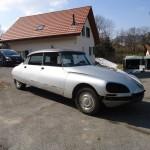DS 21 IE GRISE 1972 – Démontage carrosserie