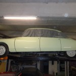 DS 21 CONFORT 1967 BLANC CARRARE. RESTAURATION INTEGRALE 011.