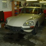 DS 21 CONFORT 1967 BLANC CARRARE. RESTAURATION INTEGRALE 001