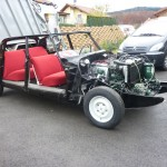 DS 21 CONFORT 1967 BLANC CARRARE. RESTAURATION INTEGRALE 007.